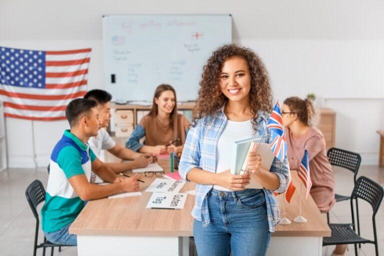 programa bilingue para escolas